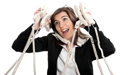 Do you feel like this crazy stock photo lady sometimes?
