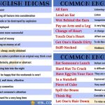 Idiom: 1500+ English Idioms from A-Z with Useful Examples